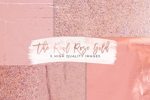 Rose gold Wedding Paper