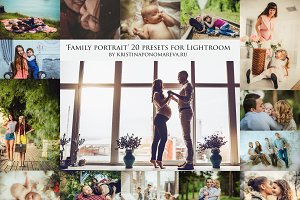 LIGHTROOM PRESETS- Family Portrait