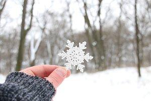 snowy creative concept