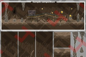Mine platform graphics