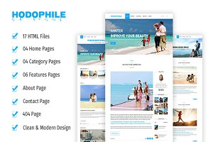 Hodophile- Responsive HTML5 Template
