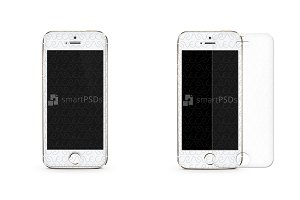 iPhone 5s Tempered Glass Mock-up