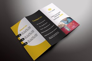 Rent a Car Tri-fold Brochures