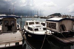 Yachts in Montenegro