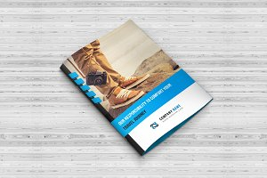 Travel Agency Bi-Fold Brochure