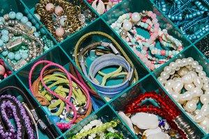 Bracelets in box