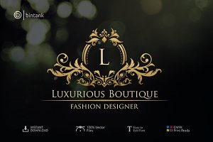 Luxurious Boutique Logo