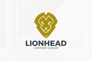 Lion Head Logo Template v2