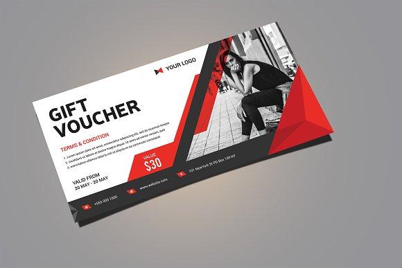 Gift Voucher ~ Card Templates ~ Creative Market
