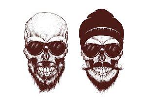 modern skulls