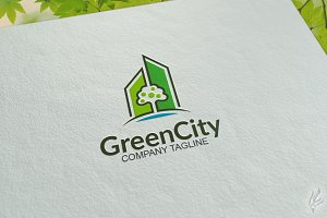 Green City - Logo Template