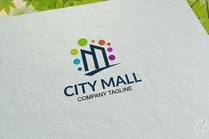 City Mall - Logo Template