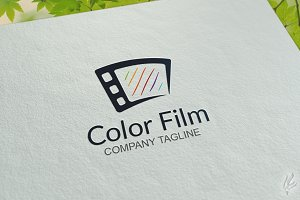 Color Film - Logo Template