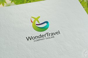 Wonder Travel - Logo Template