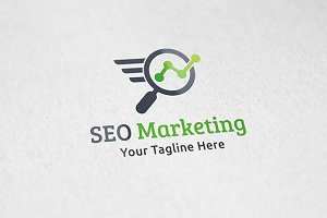 SEO Marketing - Logo Template