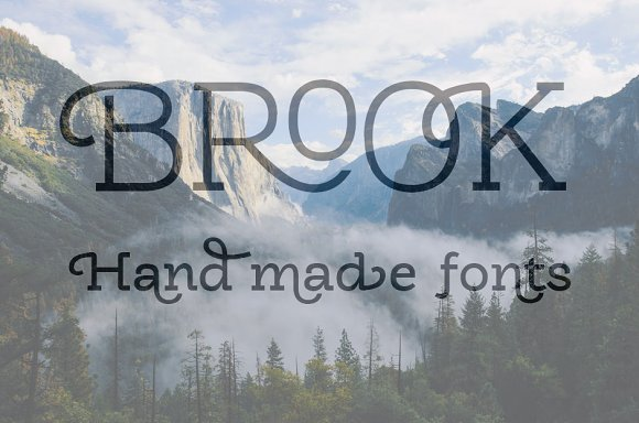 Brook Typeface