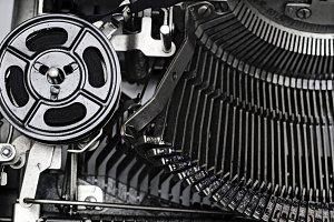 Gears Typewriter