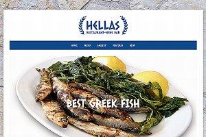 Hellas - Responsive Restaurant Theme