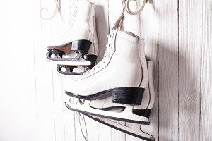 Skates close up