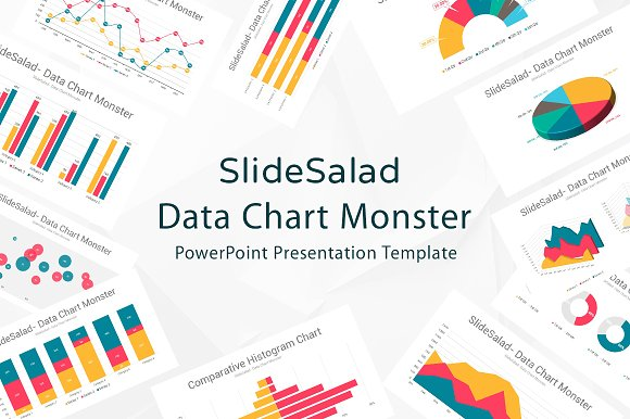 Data chart powerpoint template presentation templates creative data chart powerpoint template presentation templates creative market toneelgroepblik Images
