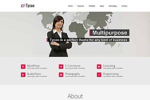 Tycoo - WP Business Theme