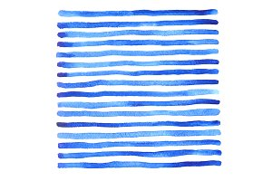 Marine background with stripes