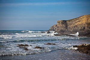 Western Portugal Ocean Coastline