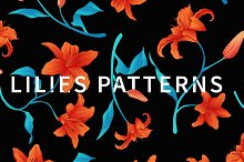 Lilies patterns