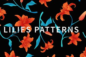 Lilies patterns