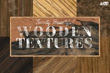 20 Wood Textures Pack