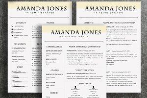 Resume Template | Amanda