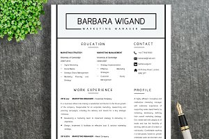 Resume Template | Barbara