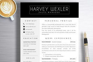 Resume Template | Harvey