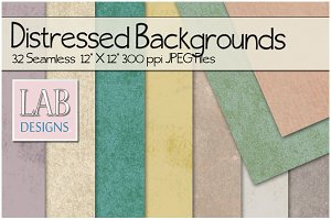 32 Distressed Pastel Backgrounds