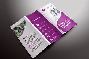 Flower Shop Trifold Brochures