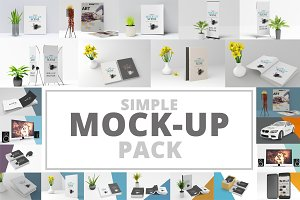 21 Simple Mockups