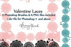 Laces Photoshop Brushes-SALE!