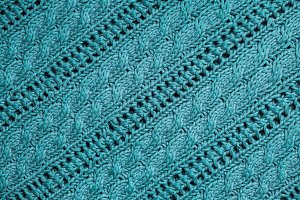 Texture of knitting
