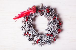 Eco Christmas wreath