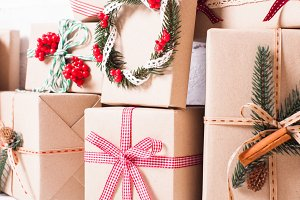 Christmas craft boxes