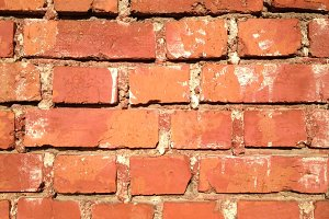 Regular Red Bricks - Texture