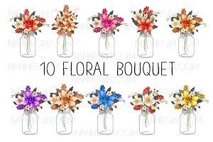 10 floral bouquets №5