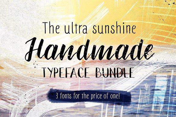Ultra Sunshine Handmade Typefaces
