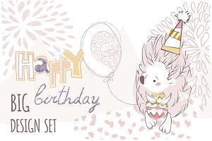 Birthday design set