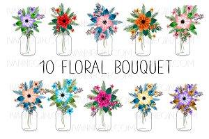 10 floral bouquets №7