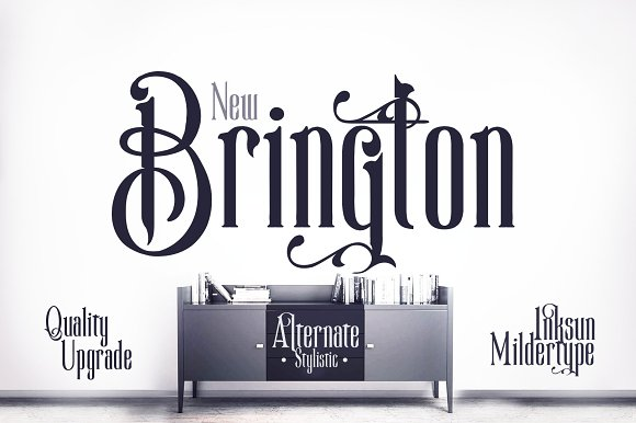 New Brington Font Ornament