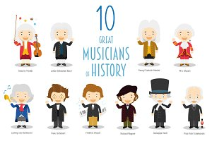 10 Great Musicians of History
