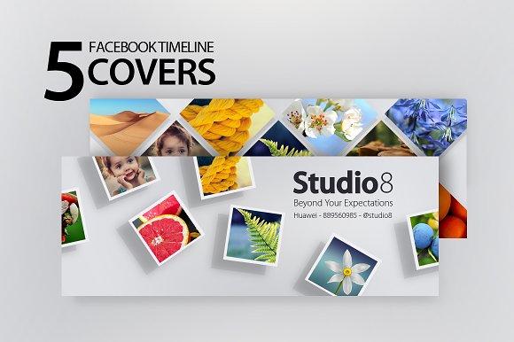 Creative Facebook Timeline Covers Facebook Templates Creative Market