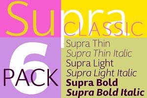 Supra Classic 6-Pack