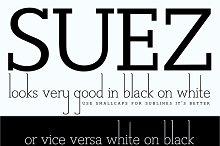 Suez font
